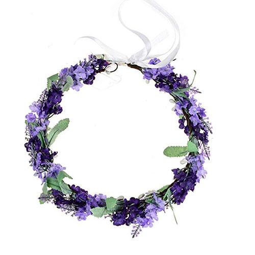 Vividsun Lavender Flower Crown