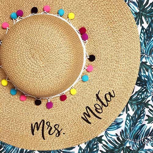 Shop at Bash Personalized Sun Hat