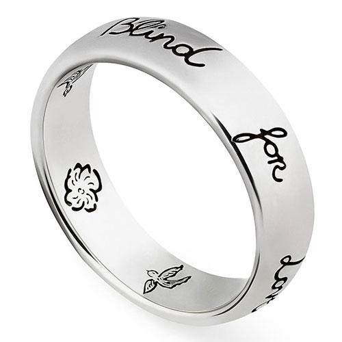 Gucci Blind for Love Ring