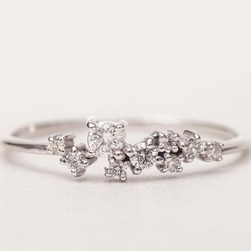 DiamondMery Jewelry 14K Gold Ring