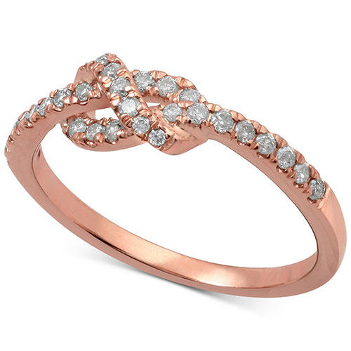 Macy's Rose Gold Knot Ring