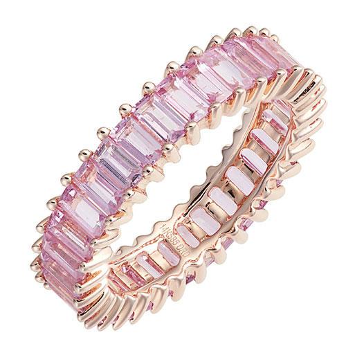 Dana Rebecca Designs Kristyn Kylie Pink Sapphire Eternity Ring