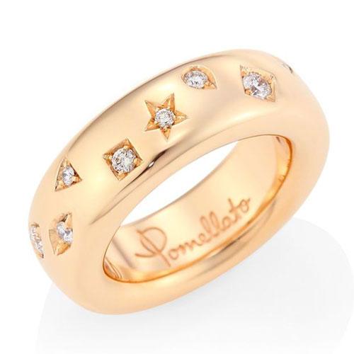 Pomellato Iconica 18K Rose Gold Ring