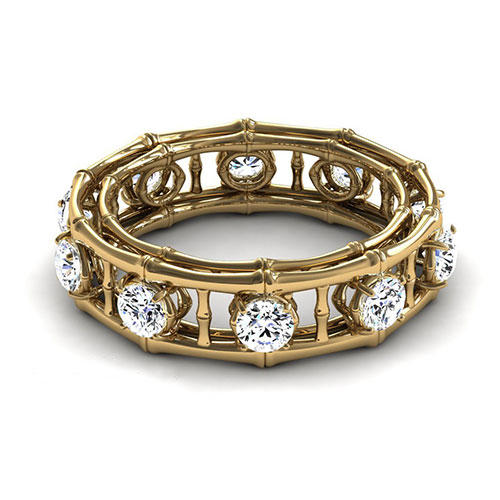 Segal Jewelry Eternity Diamond Ring