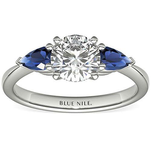 Classic Pear-Shaped Sapphire Diamond