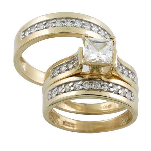 10 Karat Matching His & Hers Rings