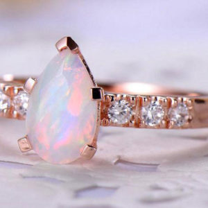 Best Opal Wedding Rings