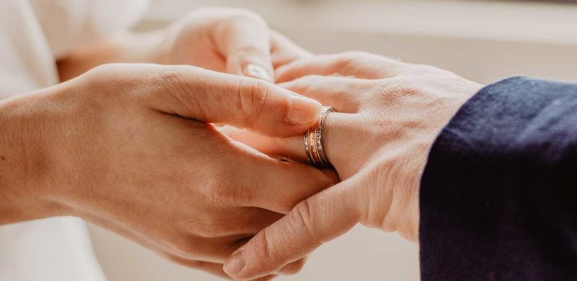 Exchanging wedding bands during one's nuptials is an enduring Western custom. While the bride's engagement ring receives much hoopla in the preceding period, on the day of the wedding both rings carry equal symbolic weight. A bond has been established,…