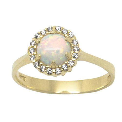 AntEvaCrafts White Opal Halo