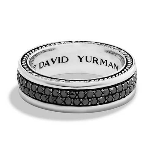 David Yurman Streamline Two-Row Band