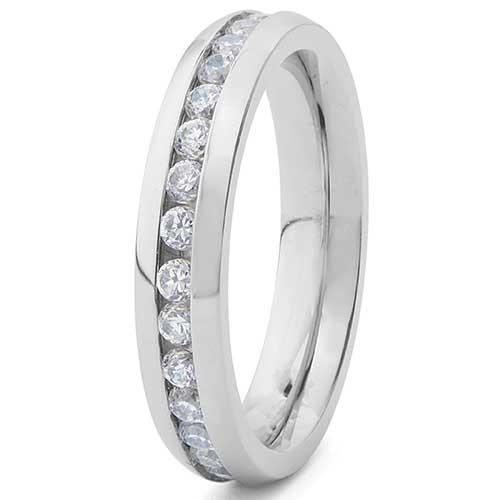 West Coast Jewelry Eternity Bridal Band Link to Product: