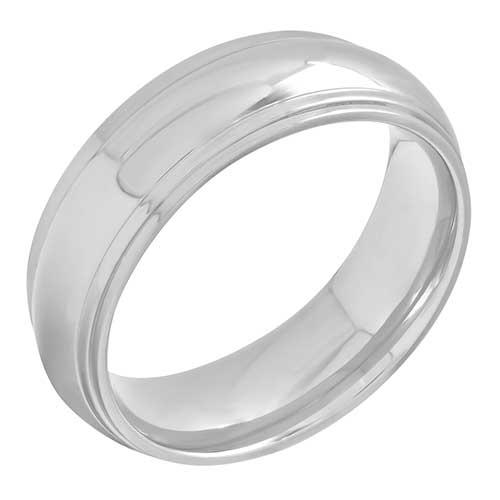 Stainless Steel High Polish Ring