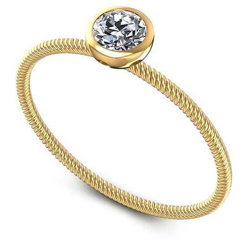 Prime Settings Gold Diamond Ring