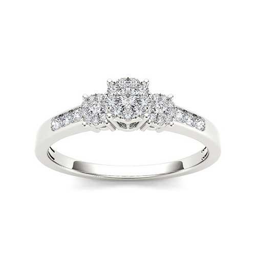 De Couer Diamond Trilogy Imperial Ring