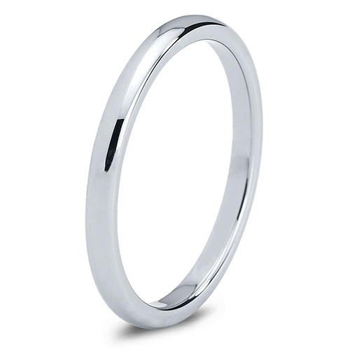 Charming Jewelers Polished Tungsten Ring