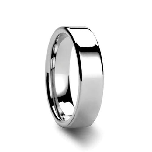 THORSTEN-ATHENA Flat Tungsten Ring