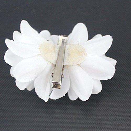 DreamLily Girl's Bridal Crystal Flower Barrette