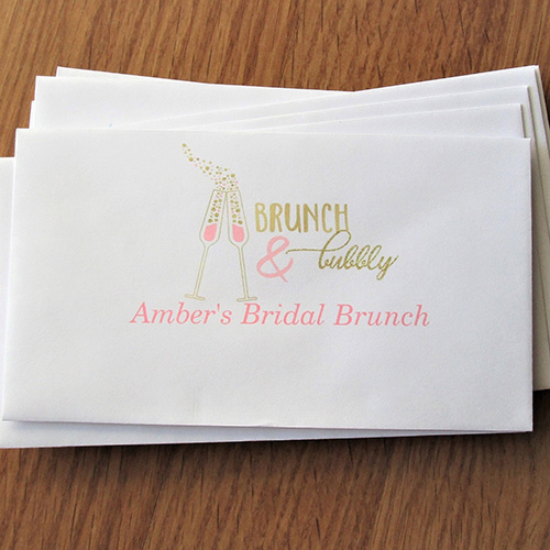 Brunch & Bubbly Left, Right, Pass the Envelope Game