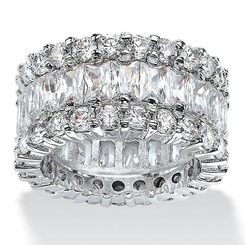 Palm Beach Jewelry Platinum Ring