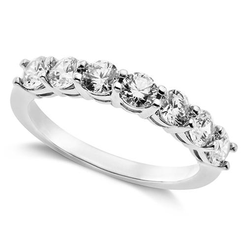 Arabella Swarovski Zirconia 7-Stone Ring