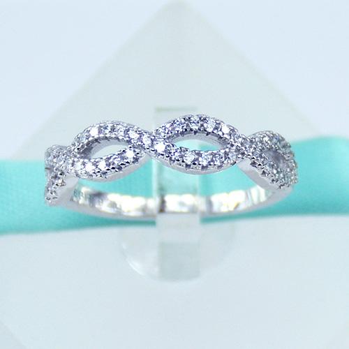 Lauren Jewelry US Crossover Swirl Ring