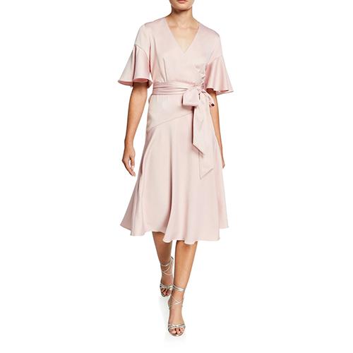Elliatt Famous V-Neck Wrap Dress