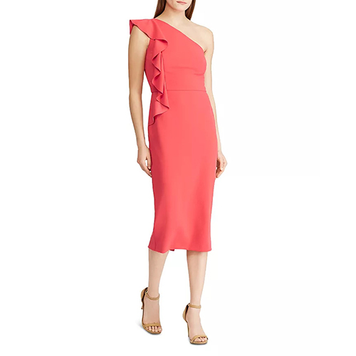 Ralph Lauren Ruffle Sheath