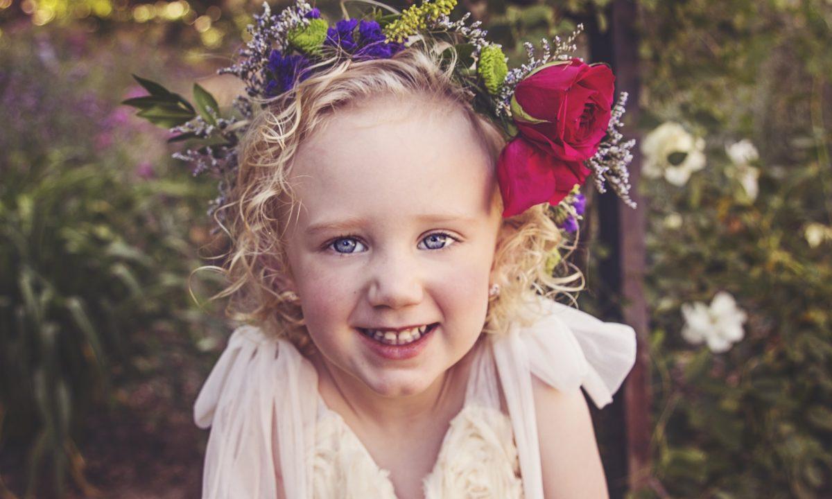 Best Summer Wedding Flower Crowns for Flower Girls