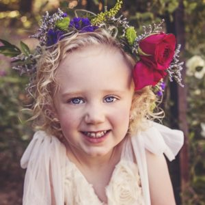 Best Summer Wedding Flower Crowns for Flower Girls
