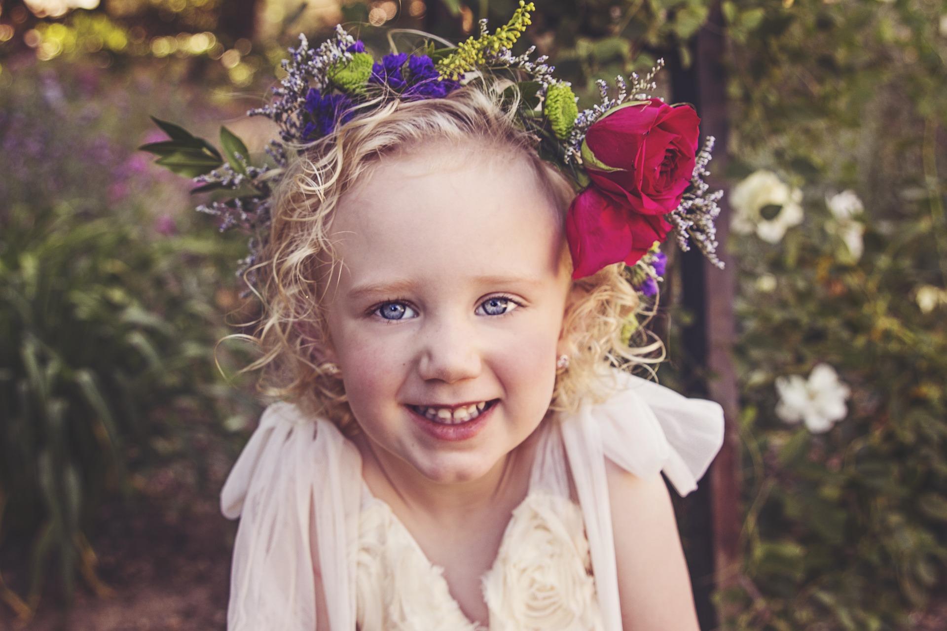 flower girl gifts Purple flower girl crown Rustic festival headpiece