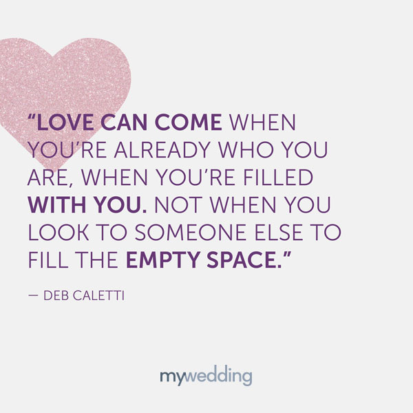 Romantic Quotes About Love Marriage Mywedding
