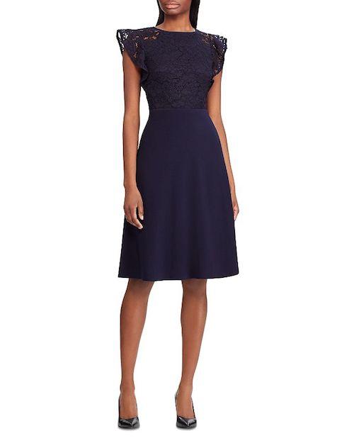 Ralph Lauren Lace Short Dress