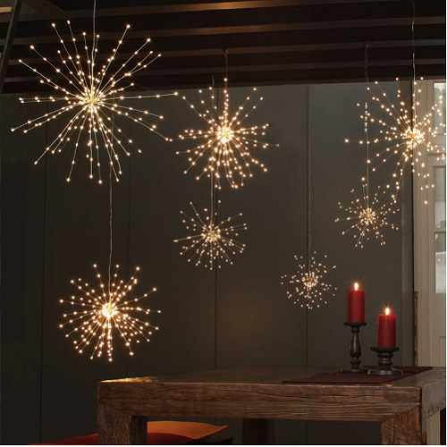 Coraline Garlands 200 LED Fairy Lights on Hanging Copper