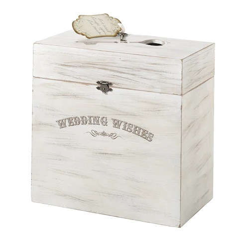 Lillian Rose Wedding Wishes Wooden Box