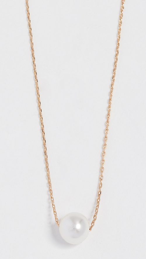 Theia Jewelry Petite Swarovski Necklace