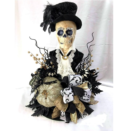 Sparkle With Style Halloween Skeleton
