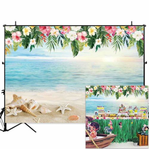 Allenjoy Tropical Backdrop