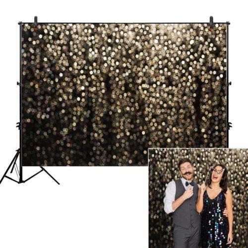 Allenjoy Gold Glitter Background