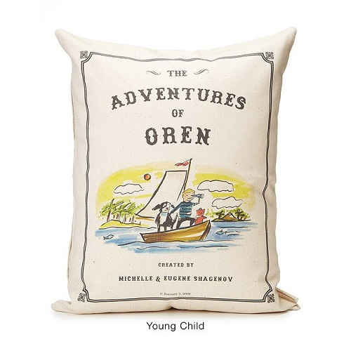 Uncommon Goods Personalized Storybook Pillow
