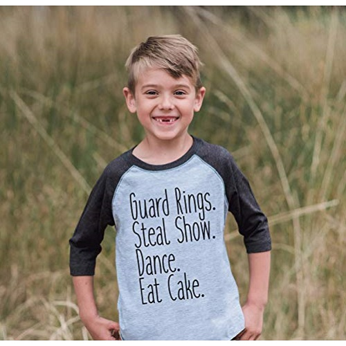 7 ate 9 Apparel Ring Bearer Raglan Shirt
