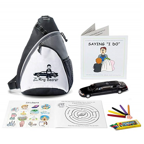 Kid Friendly Weddings Ring Bearer Wedding Activity Backpack