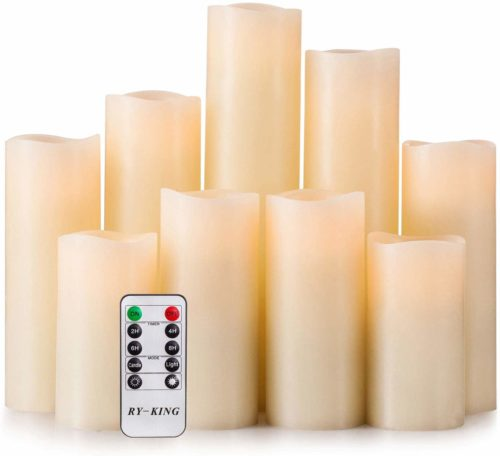 Battery-Operated Flameless Candles