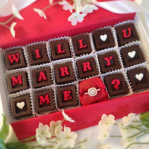 Will U Marry Me Chocolates