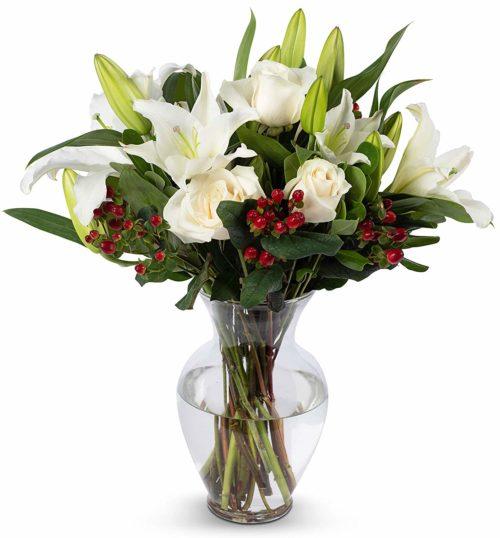 Benchmark Bouquets Fresh Floral Arrangement