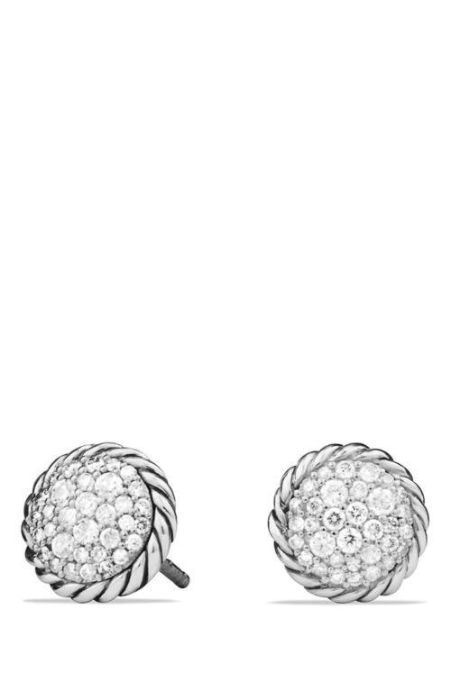 David Yurman Châtelaine' Pavé Earring with Diamonds