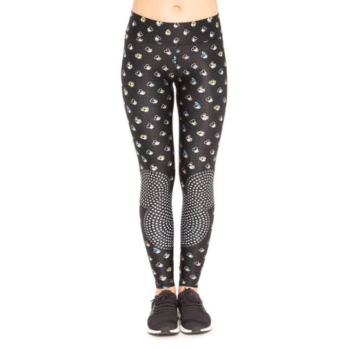 Terez Many Faces of Mickey Mouse Leggings