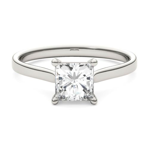 Best Princess-Cut Ring: Forever One Solitaire