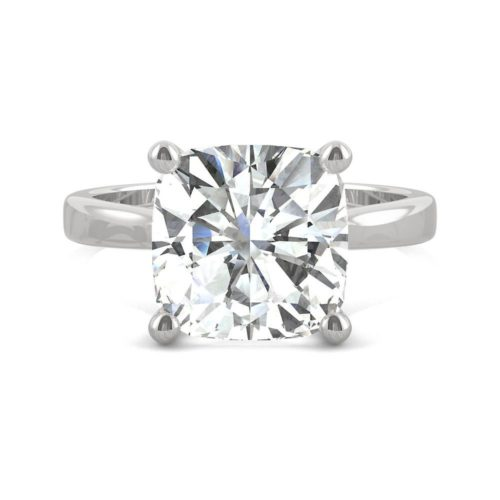 Forever One White Gold Solitaire