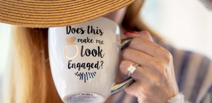 Your bride-to-be is anything but conservative, and she's loads of fun. She's artistic, creative and funky. She loves dancing in the rain, old movies and thrift shops. You aren't surprised when she decides to wear a big hat for no…