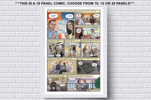 Personalized Will You Marry Me Comic Strip